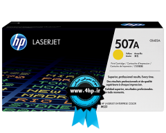 HP 507A Yellow Original LaserJet Toner Cartridge CE402A